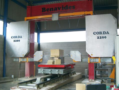 Benavides Systems GmbH - Natursteinbearbeitung - Natural Stone Machining
